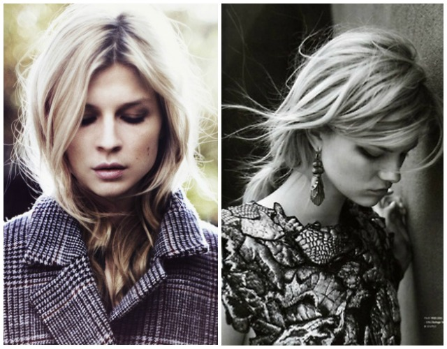 Clemence Poesy and romantic earings