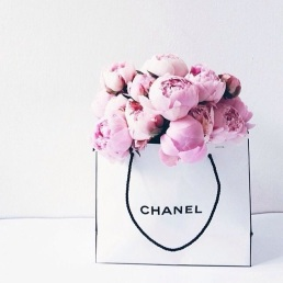 Chanel and Peonies