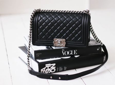 Chanel Boy and Vogue - The perfect combination