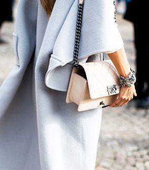 Chanel Boy bag in Pastel - Who What Wear