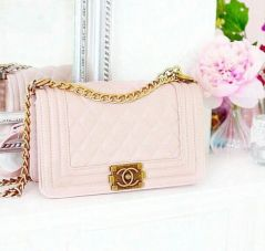 Chanel Boy in Blush Pink - Simply perfect!