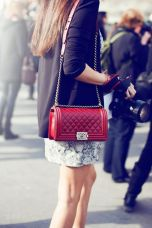 Chanel Boy in Red - Yes please!