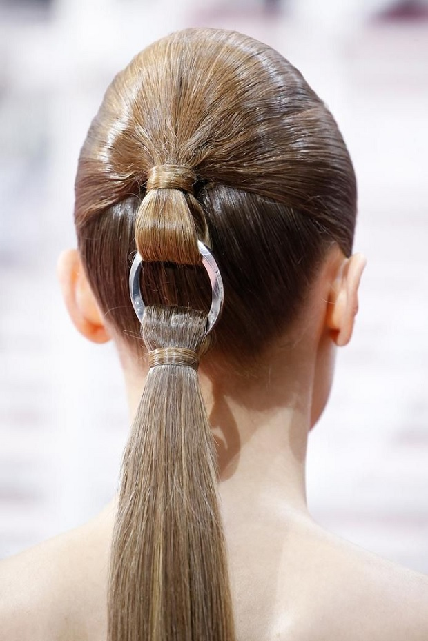 Dior Haute Couture Pony Tail