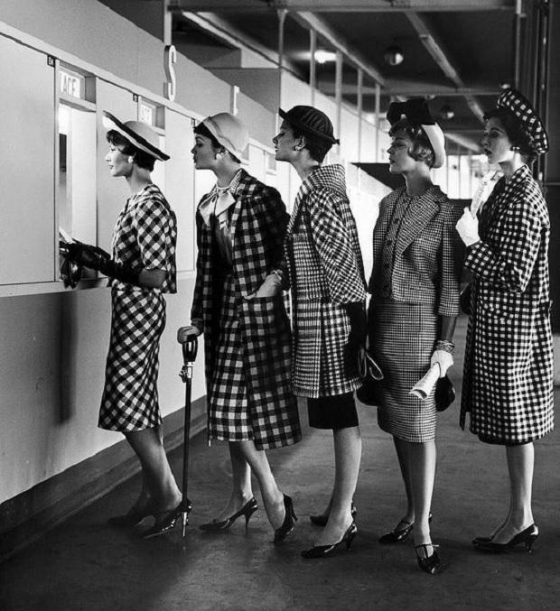 Elegant vintage women
