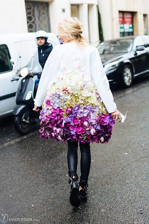 Flower coat