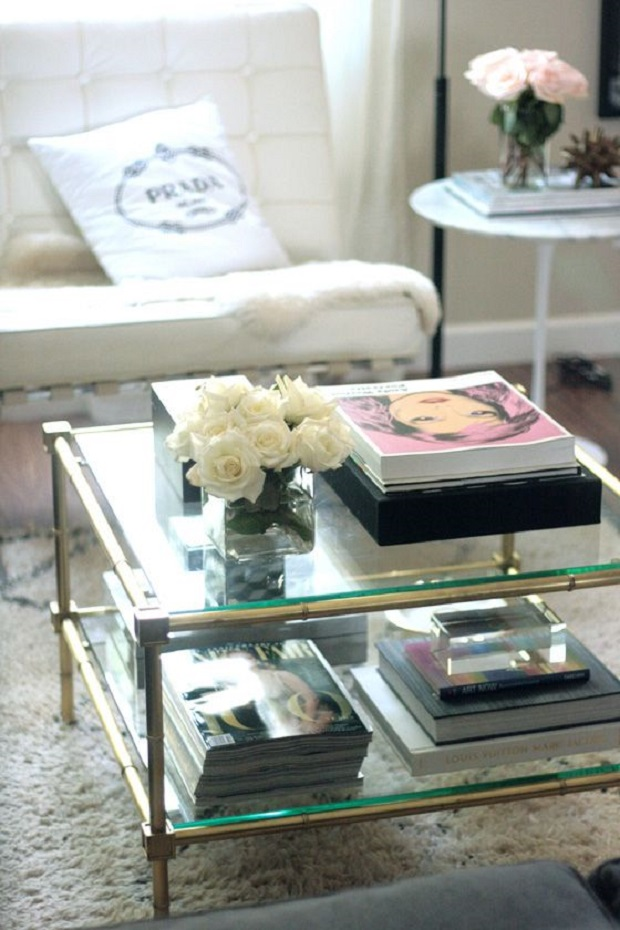 Home coffee table styling quintessence parisienne for Making a coffee table book