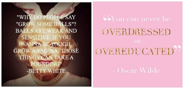 quote betty white oscar wilde