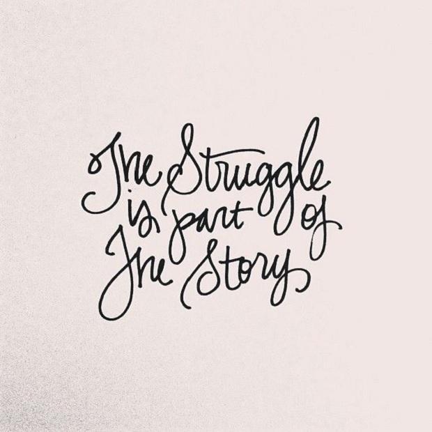 Quote struggle