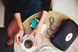 Tea at a Parisian café
