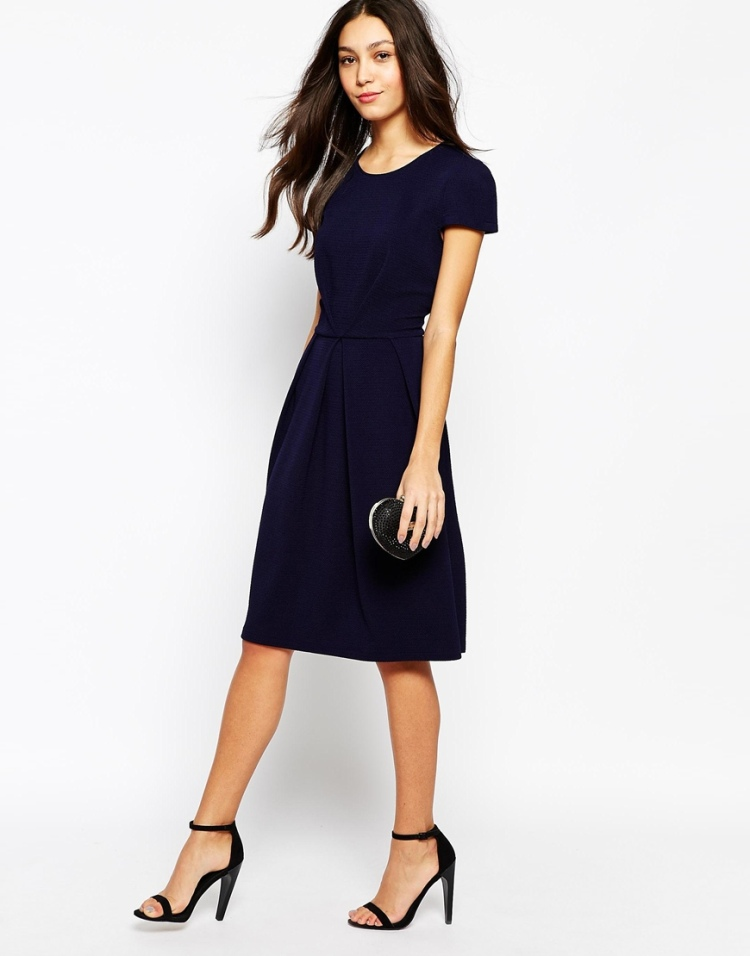 Asos Dark Blue dress