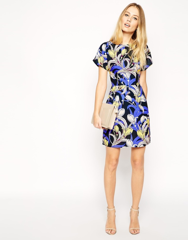 Asos dress - Floral prints