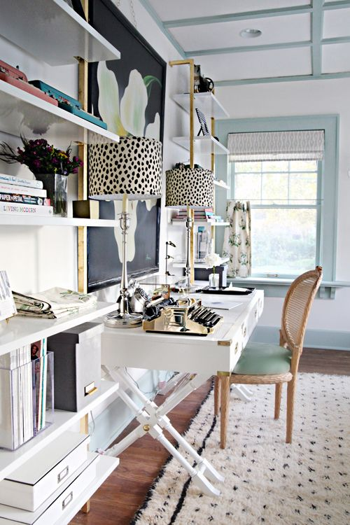Leopard lamps for home office